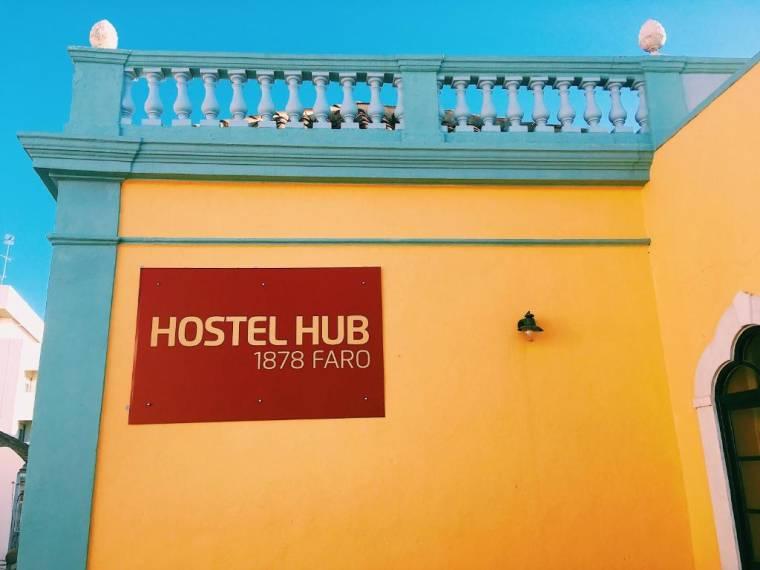 HUB 1878 Faro Hostel