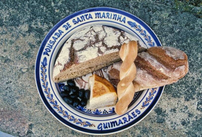 Traditional Portuguese bread