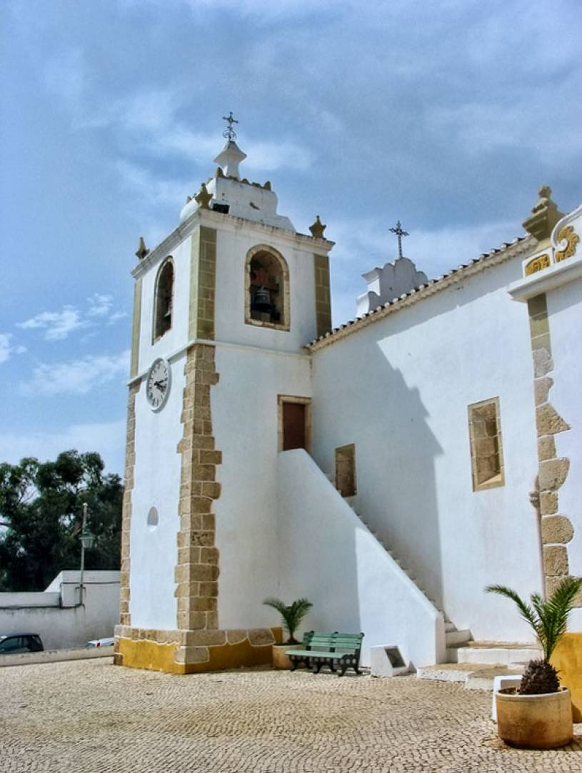 Divino Salvador, Matriz de Alvor Church