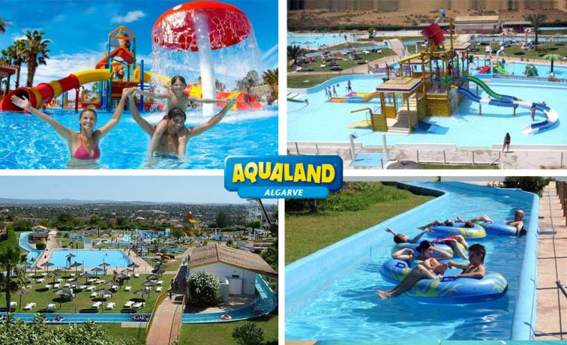 Aqualand water park- Algarve
