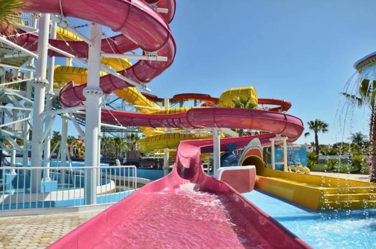 Aquashow Pink & Shark slide