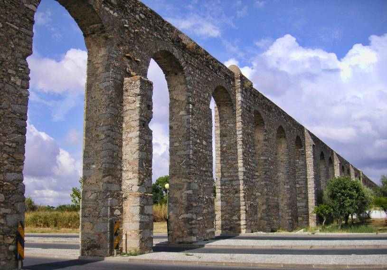 Aqueduto da Agua da Prata - Evora