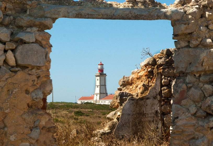 Cabo Espichel Lighthouse view
