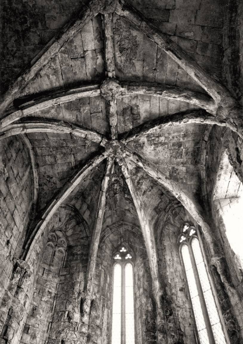 Convento do Carmo - Vaulted ceiling
