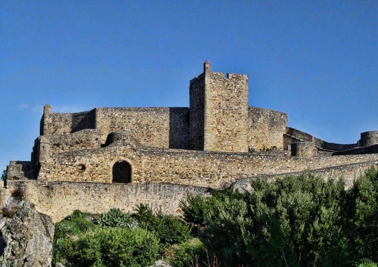 Marvão Castle walls