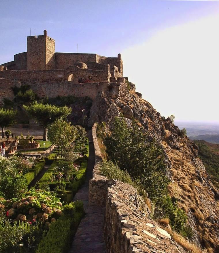 Marvão Castle and garden