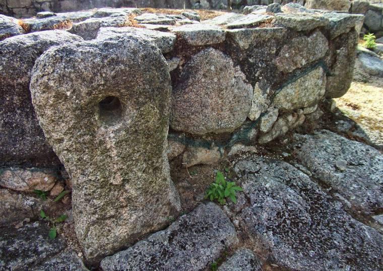 Cividade de Terroso door stone