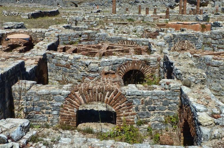 Conimbriga Roman baths