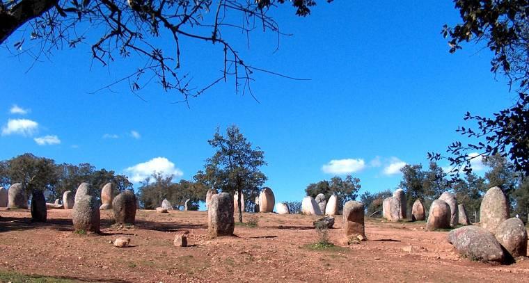 Almendres standing stones
