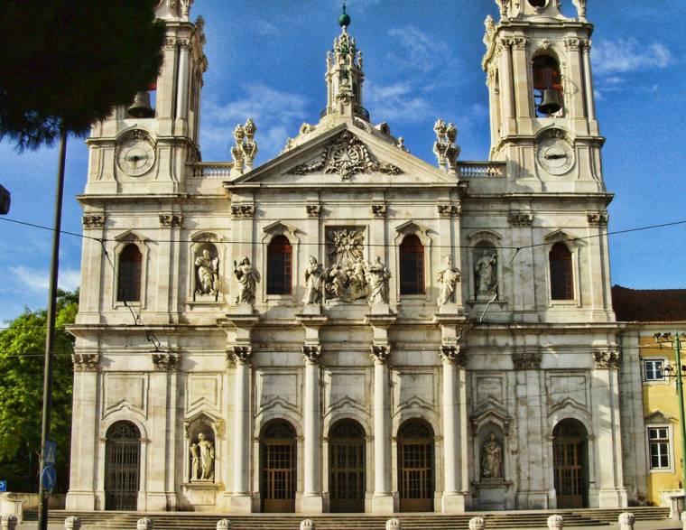 Basílica da Estrela facade