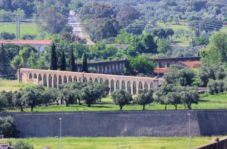 Aqueduto da Agua de Prata - Evora aqueduct