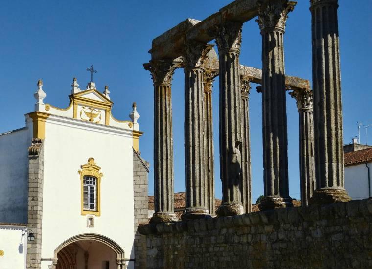 Temple of Diana - Evora