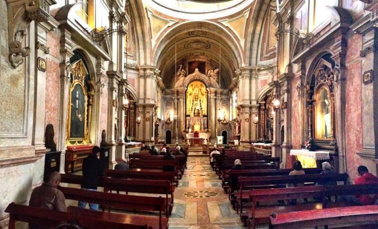 Igreja de Santo António interior