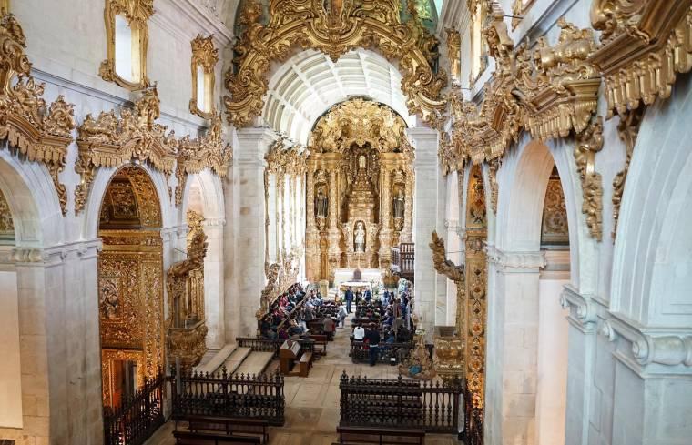Church of Tibães interior