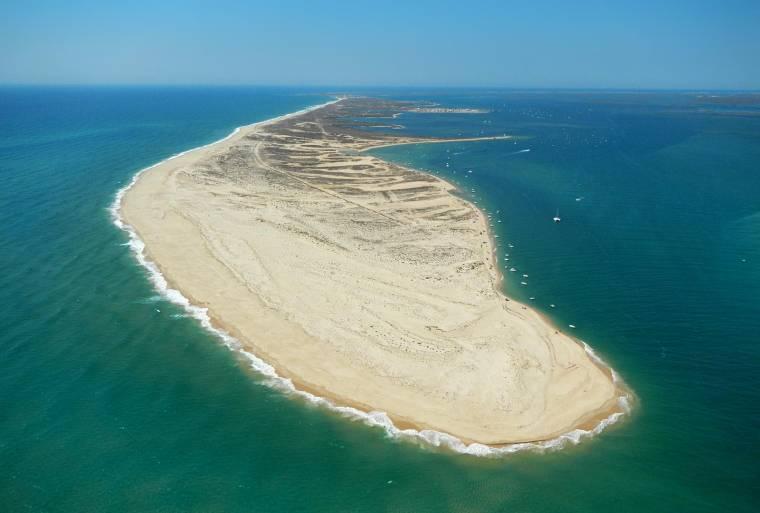 Ilha da Culatra from the air