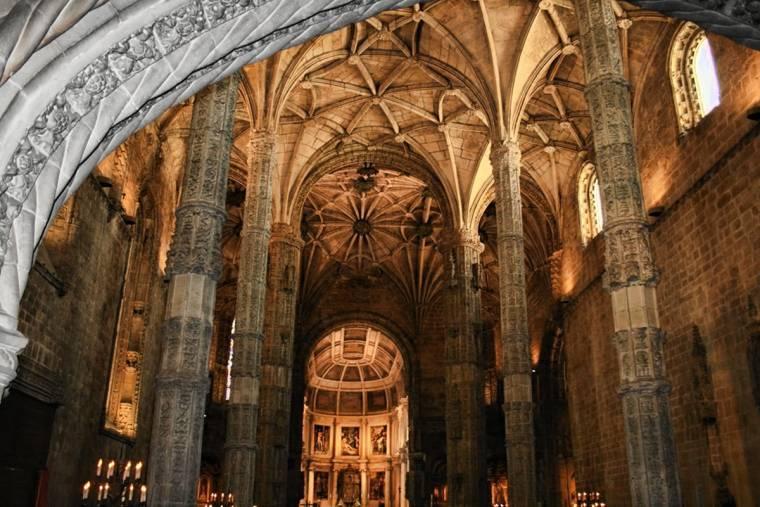 Jeronimos Monastery interior - Belem