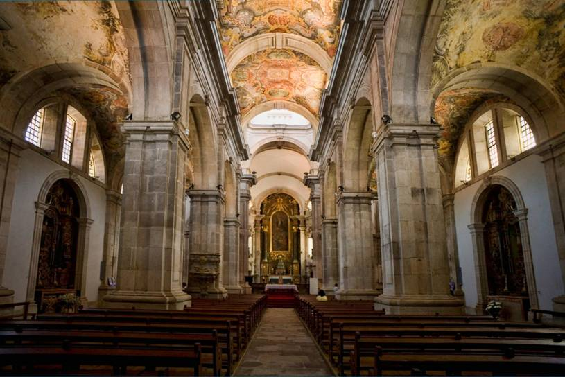 Lamego Cathedral interior