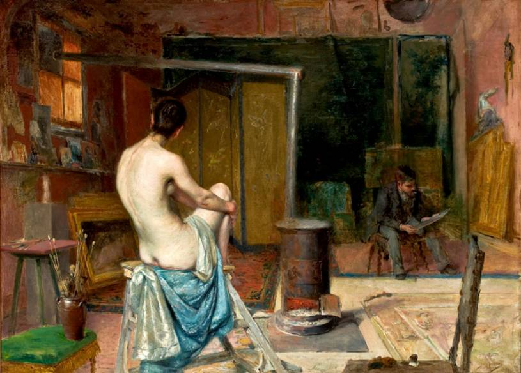 José Malhoa painting