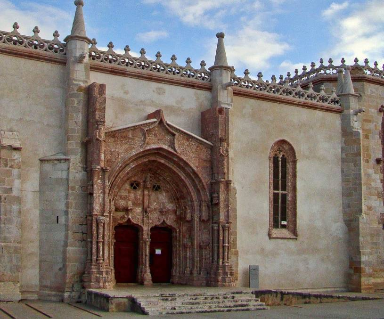 Convento de Jesus - Manueline portal