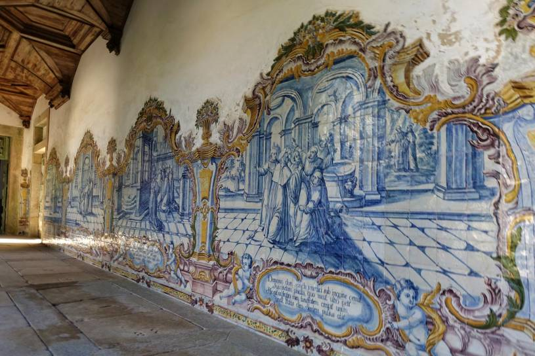 Mosteiro de Tibães azulejos