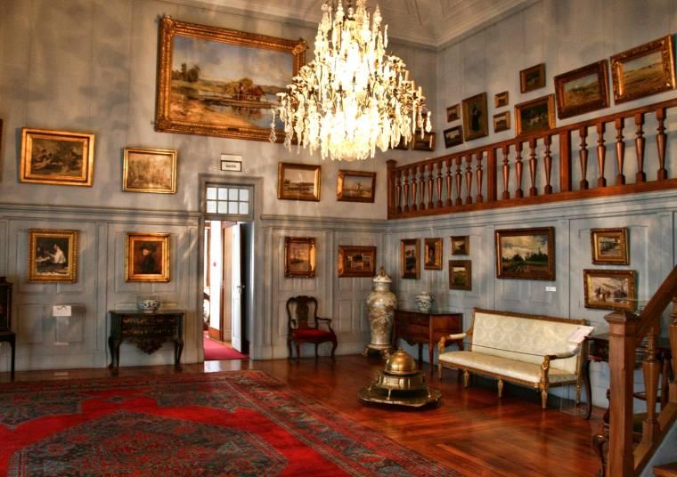 Interior da Casa Museu Dr. Anastácio Gonçalves