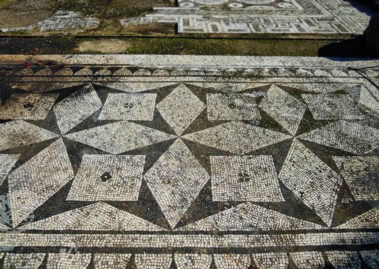 Cerro da Vila - Roman mosaic