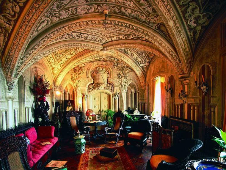 Sintra Pena Palace interior