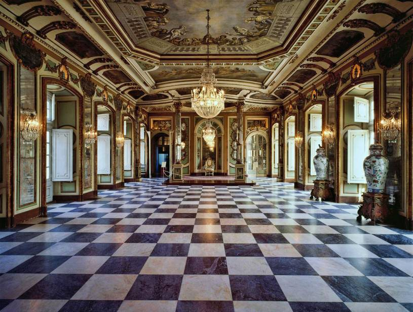 Queluz palace interior - Ambassedors' hall