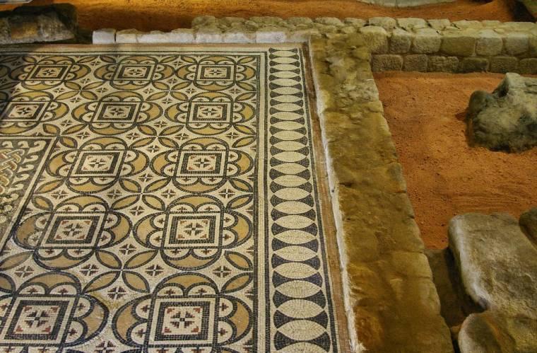 Roman Mosaic - Casa do Infante - Porto