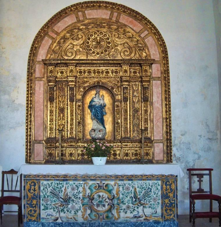 Altar of the Church of Nossa Senhora da Graça - Sagres