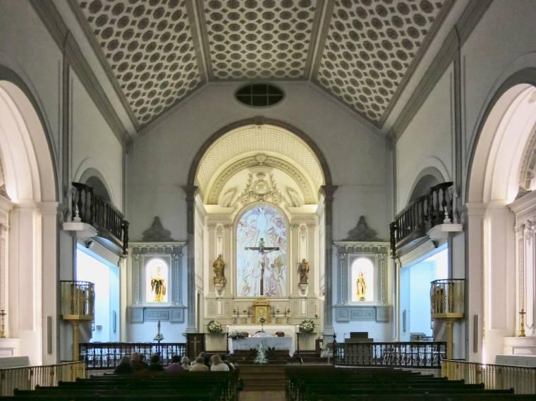 Igreja de Santa Maria de Lagos interior