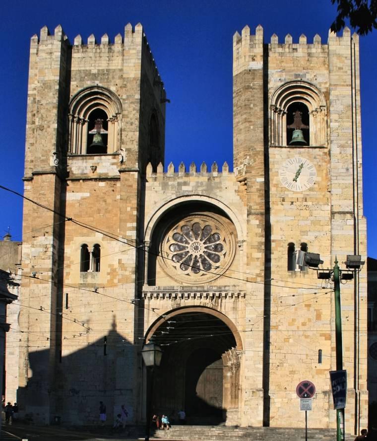 Lisbon Cathedral facade