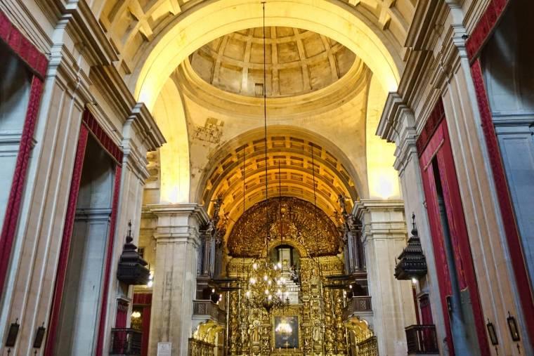 Interior Sé Nova de Coimbra