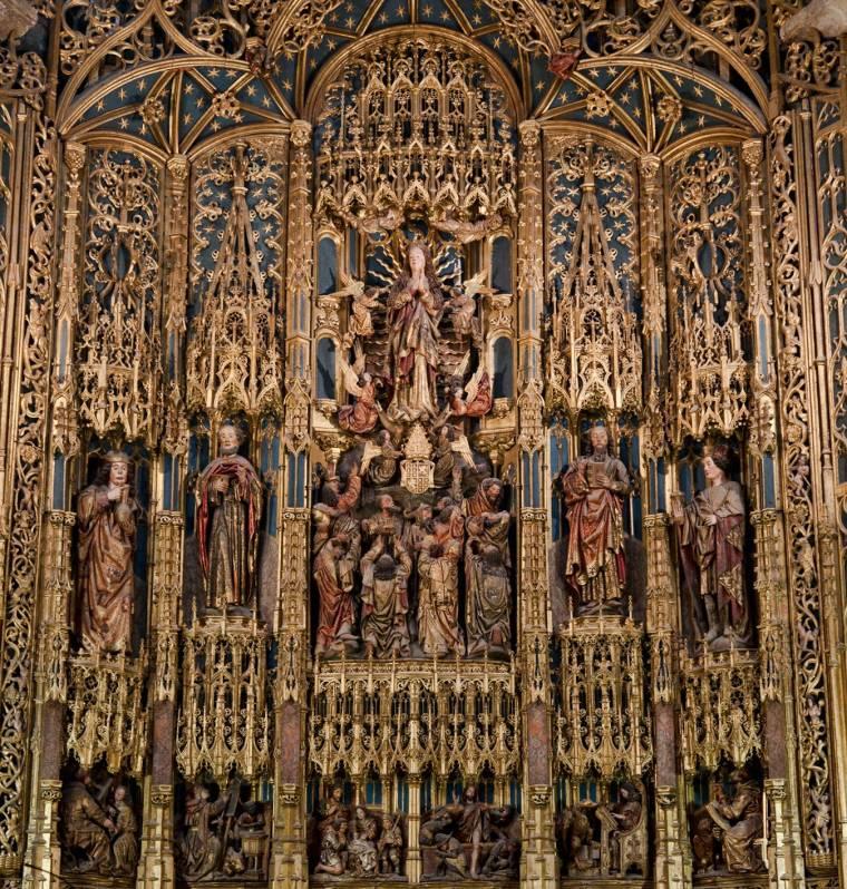 Gilded altarpiece - Se Velha
