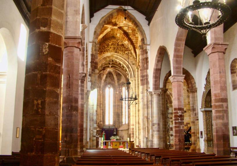 Sé Catedral de Silves - Central nave