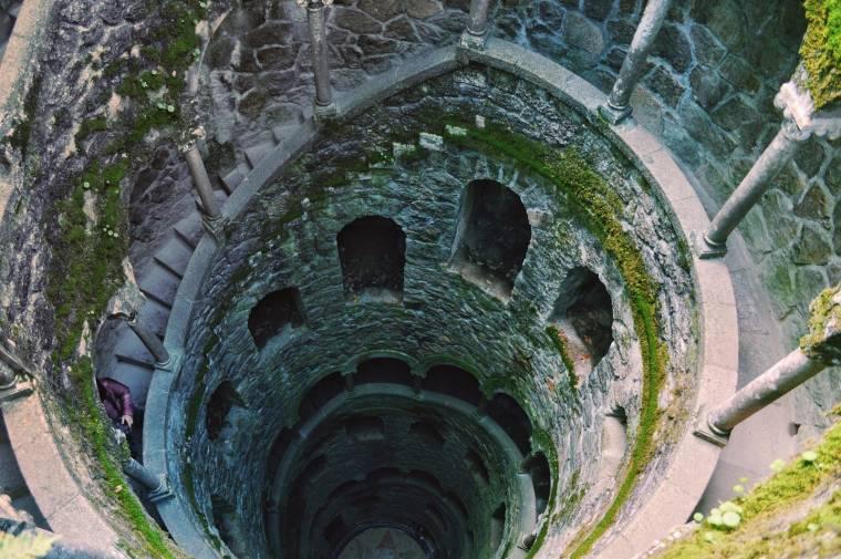 Spiral staircase - Quinta da Regaleira - Sintra