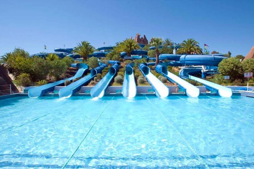 Slide and Splash water slides