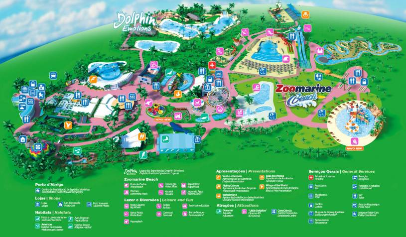 Zoomarine Park Map