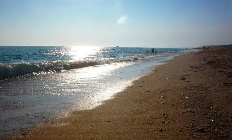 Praia do Ancão beach
