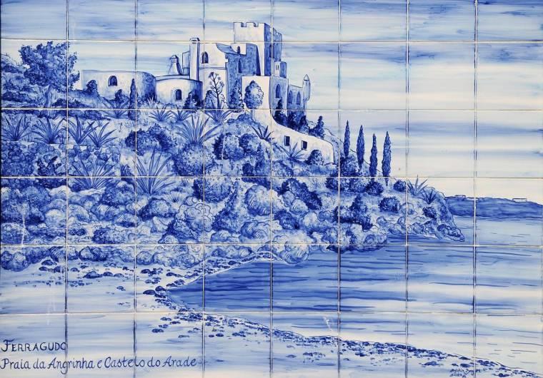 Praia da Angrinha azulejos