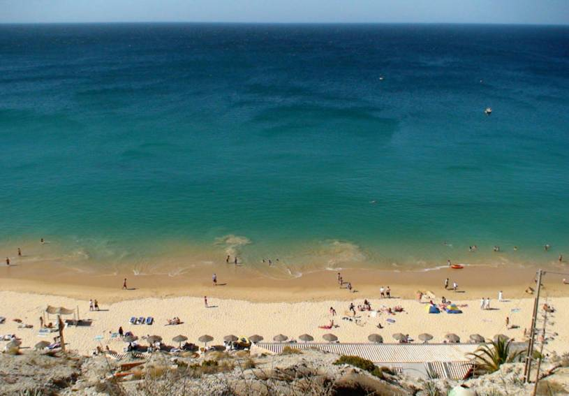 Burgau beach, Algarve