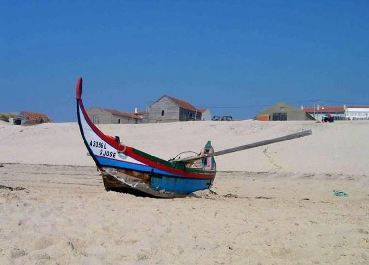 Praia de Mira fishing boat