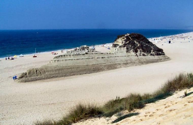 Praia do Meco sand dune