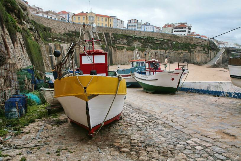 Ericeira Harbour beach