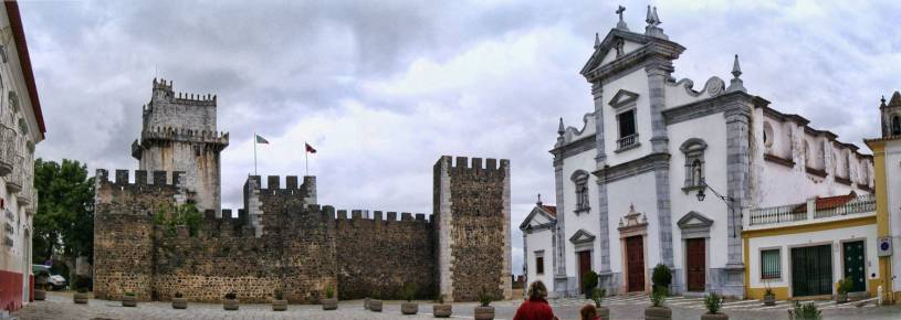 Beja Castle and Cathedral