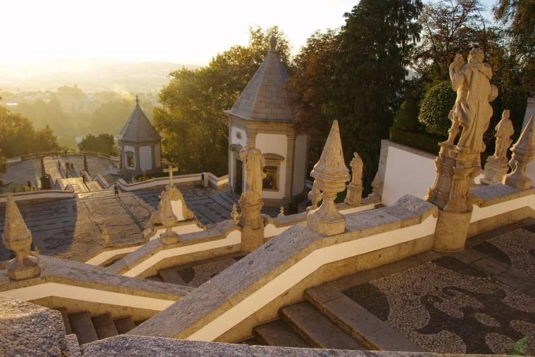 Bom Jesus do Monte Sunset - Braga