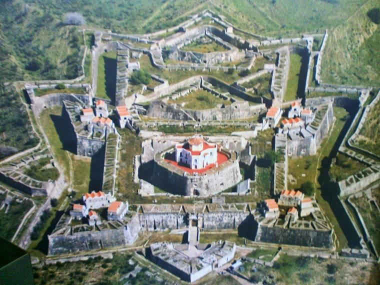 Star shaped Forte de Santa Luzia, Elvas
