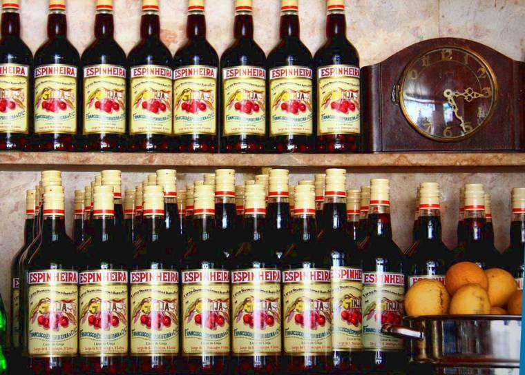 Ginjinha - cherry liqueur