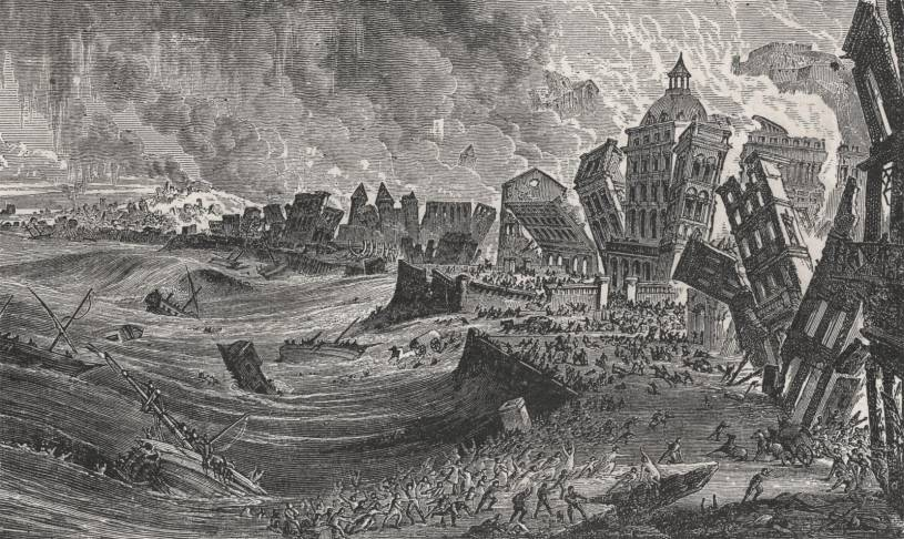 Lisbon Earthquake & Tsunami 1755