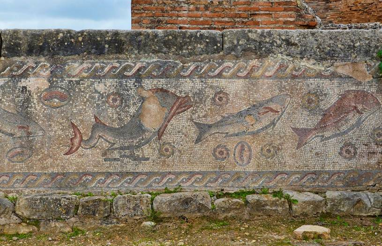 Mosaic - Roman Ruins of Milreu